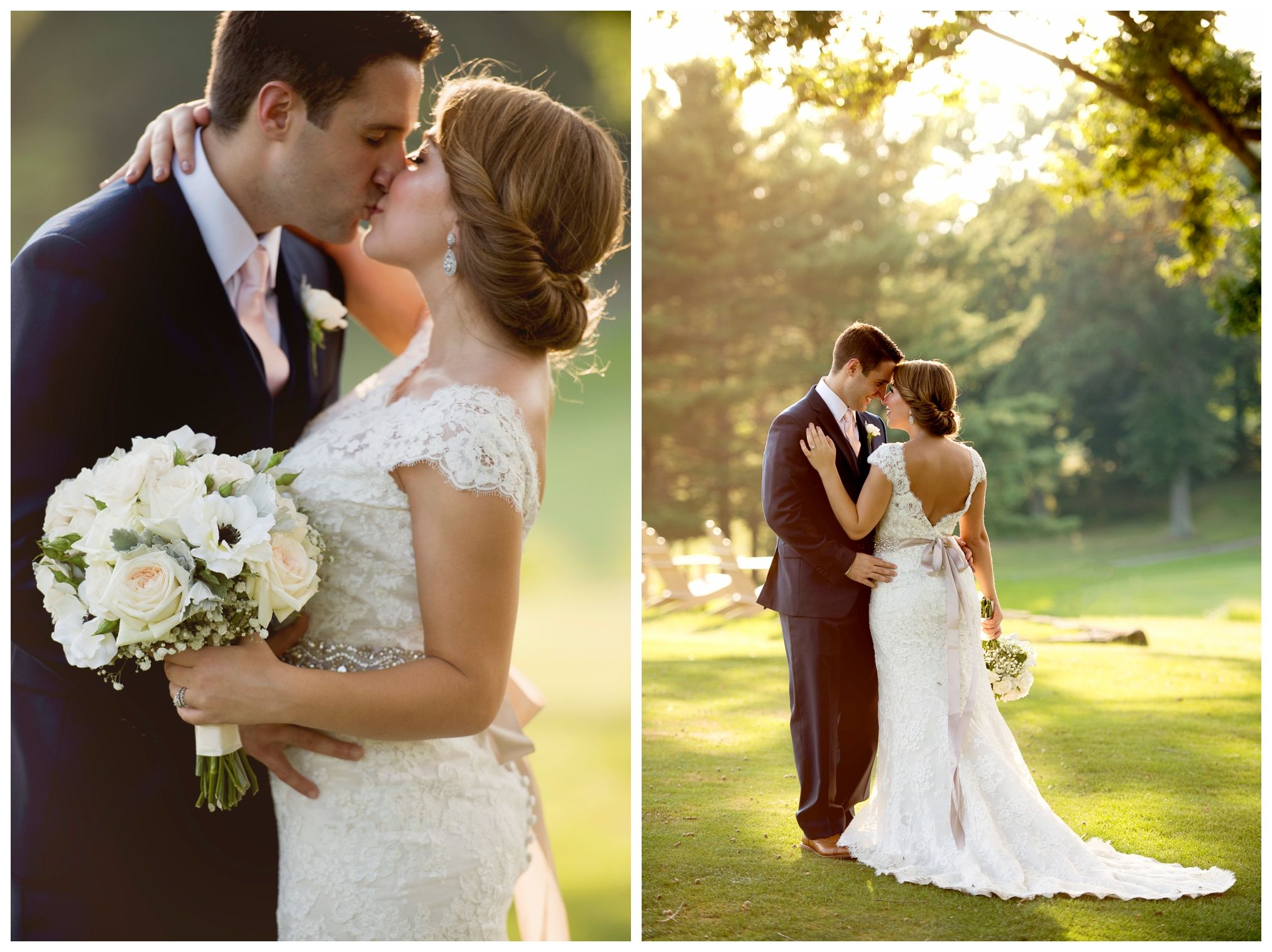 Youngstown country club wedding in youngstown oh photographed by