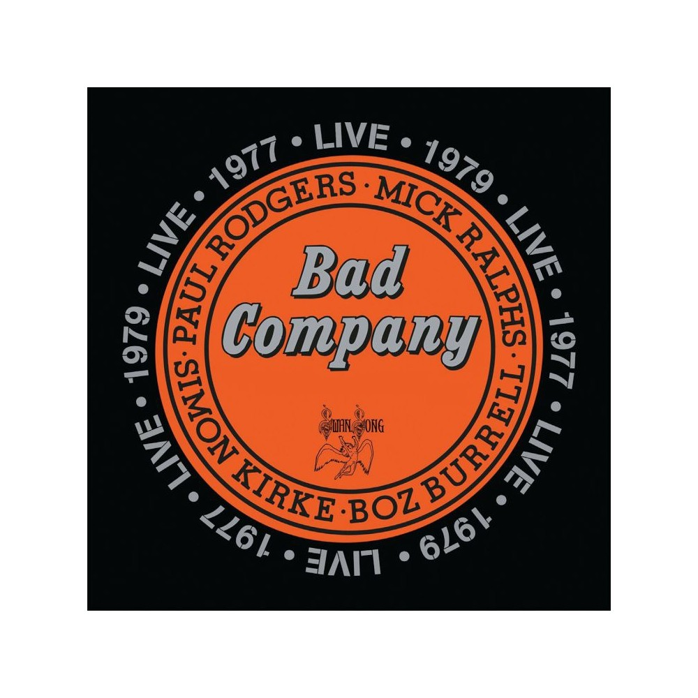 Bad Company Live In Concert 1977 1979 Paul Rodgers Cool