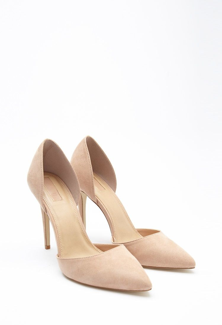 Suede pumps, Heels, Pointed toe shoes