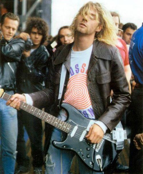 """""""I'm not going to go as far as U2 and make a big joke out of it,"""" says Kurt referring to being in a successful band. 'I'm not going to say, 'Fine, I've accepted that I'm a rock star and people don't appreciate me or the band as much as they do the entertainment.'"""""""