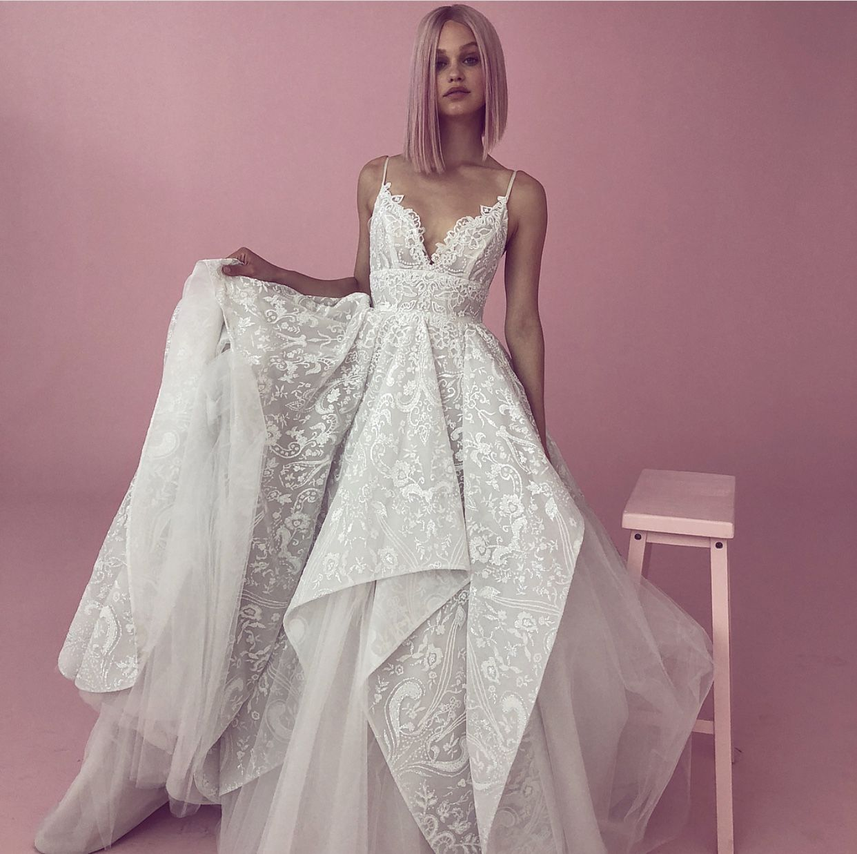309ddce8e3ef Markle Gown by Hayley Paige. I'm obsessed 😍 | Future wedding plans ...