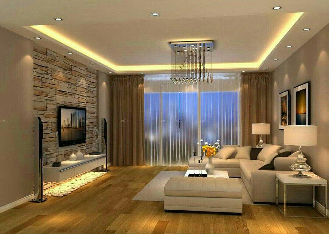 Wohnzimmer des modernen interieurs des hauses pin von baria auf trockenbau ideen  pinterest  wohnzimmer