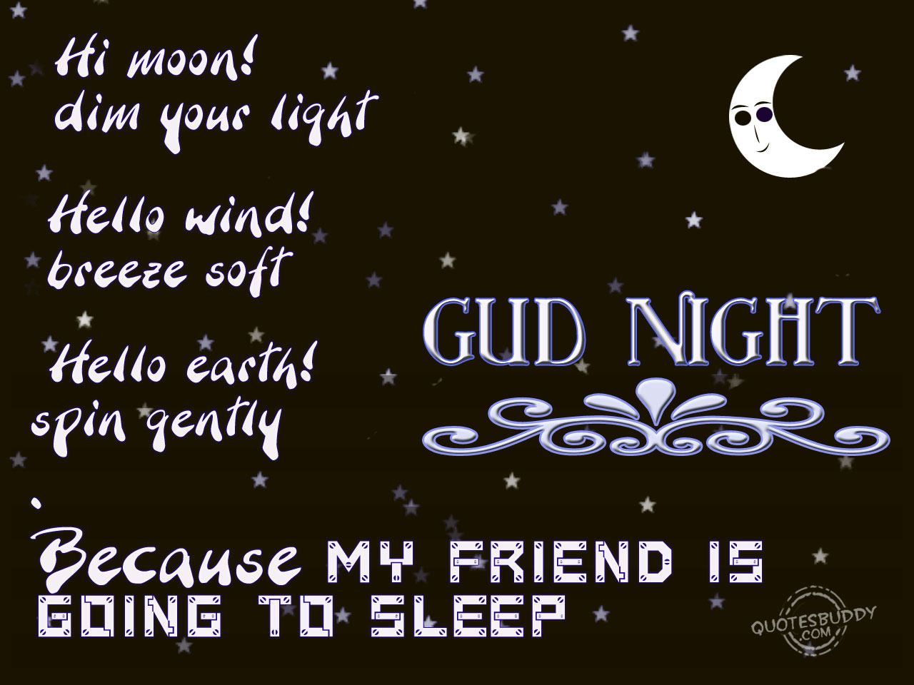 Facebook Friendship Quotes Good Night Friends Quotes My Artwork