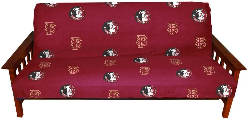 fsu futon cover   full size fits 8 and 10 inch mats   fsufc by college fsu futon cover   full size fits 8 and 10 inch mats   fsufc by      rh   pinterest