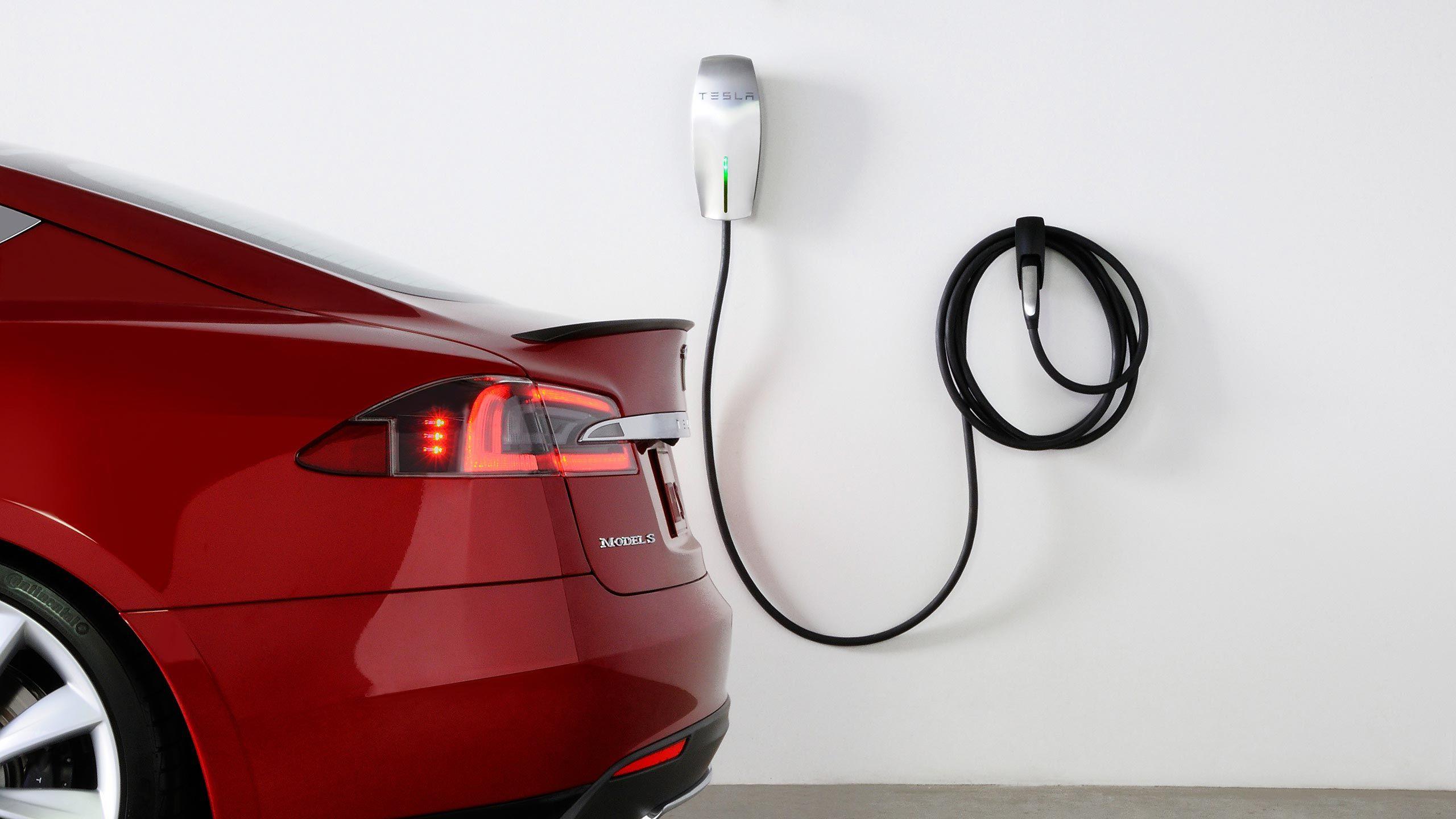 Tesla Design Studio Image Electric vehicle charging