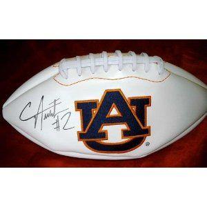 Cameron Newton Signed Autographed Auburn University Logo Football Autographed College Footballs Cameron N College Football College Football Logos Football