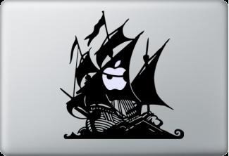 Pirate Ship Macbook Stickers