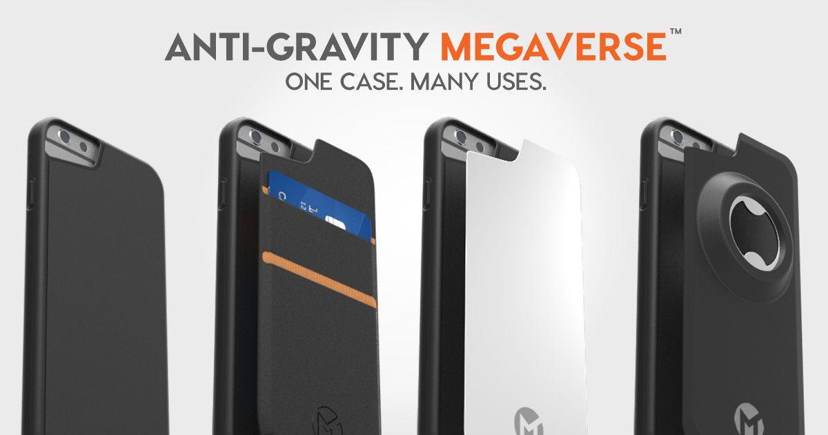 MEGAVERSE: The First Modular Anti-Gravity Case   Indiegogo