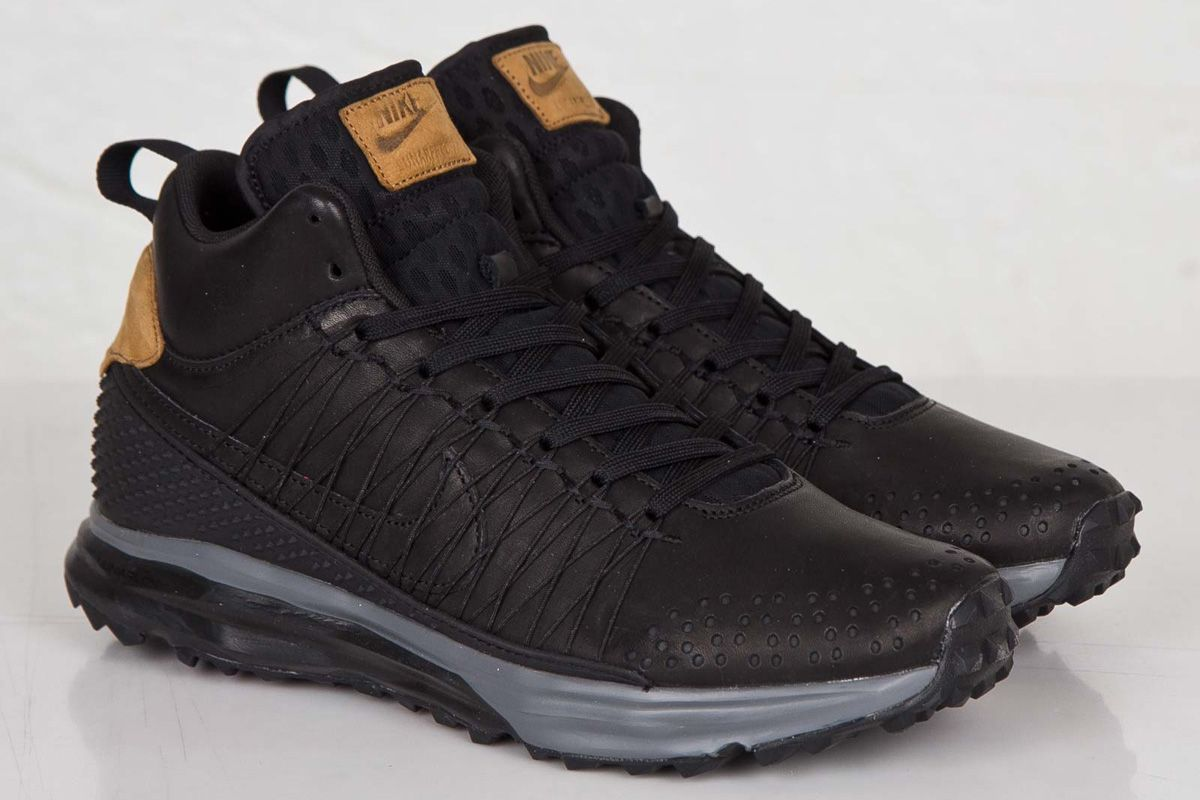 cheap for discount 31756 3d025 Nike Lunarfresh Sneakerboot  Black Ale Brown