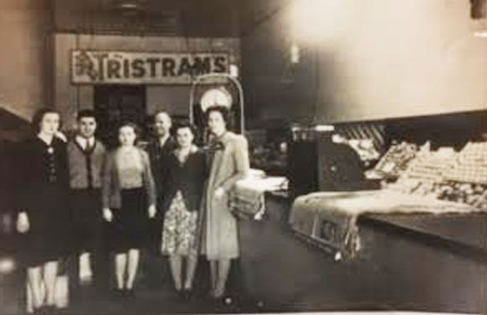 Early days at Betros Bros' original store in Ruthven Street.