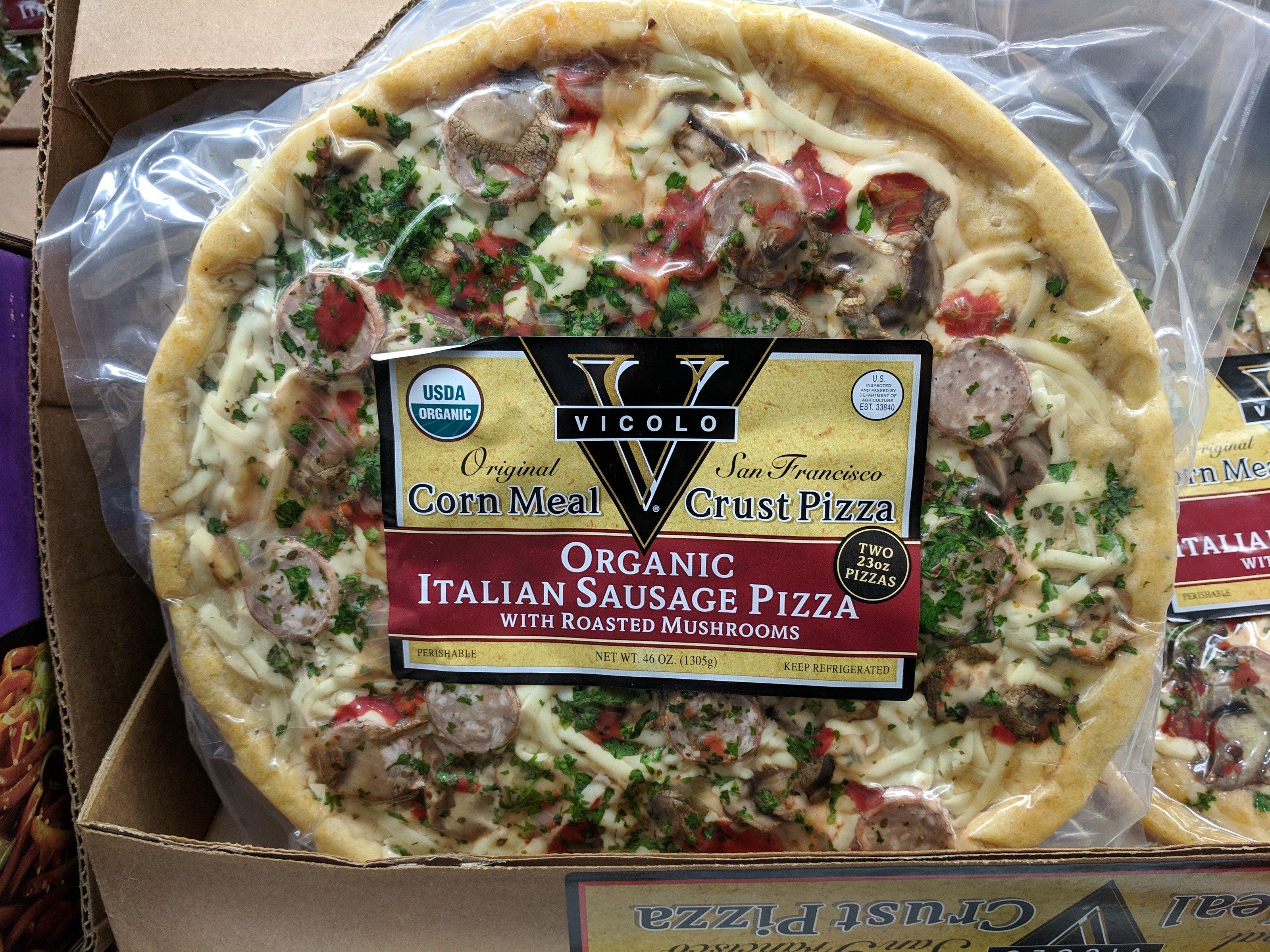 Vicolo Organic Sausage & Mushroom Pizza - $7 97 #costco