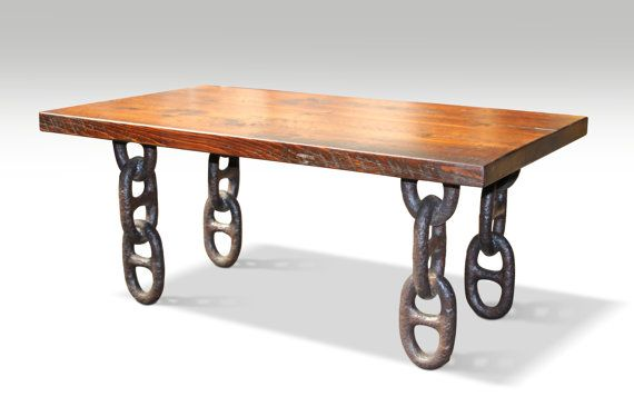 unusual chair legs posture care company sa farm table top with anchor chain coffee in 2019