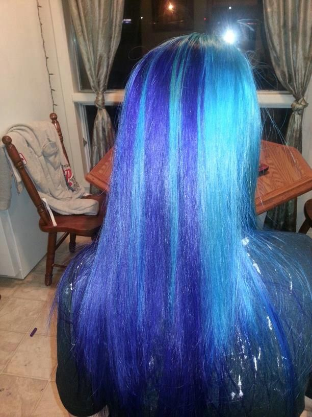 Ion Color Brilliance Brights Semi Permanent Hair Color Teal Purple