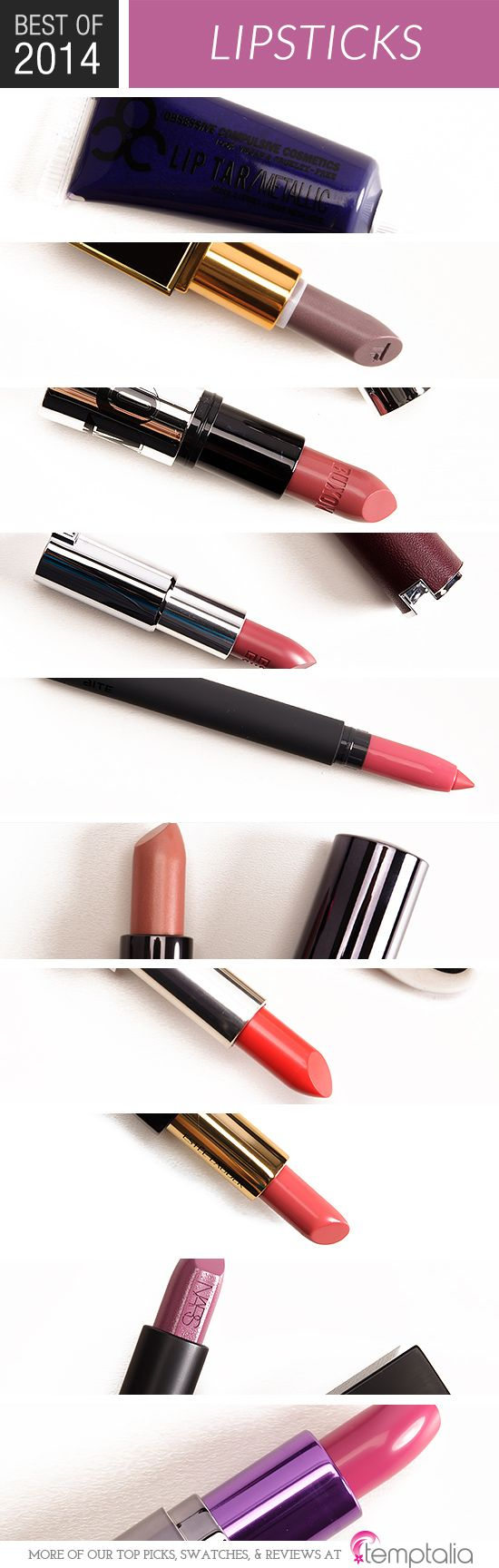 Lipsticks 2014 Editor's Favorites Best lipsticks, Top