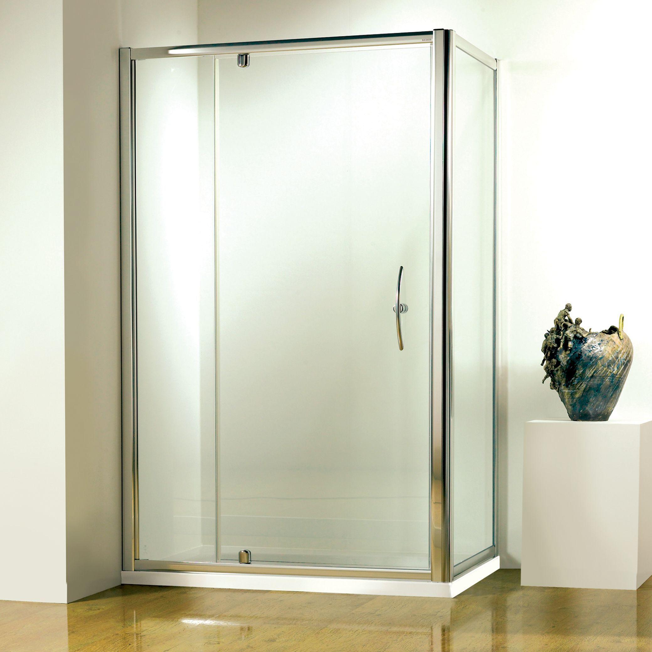 John Lewis & Partners 120 x 80cm Shower Enclosure with