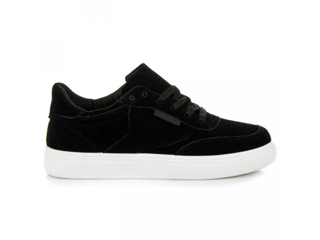 Platformové tenisky čierne  ac67471f435