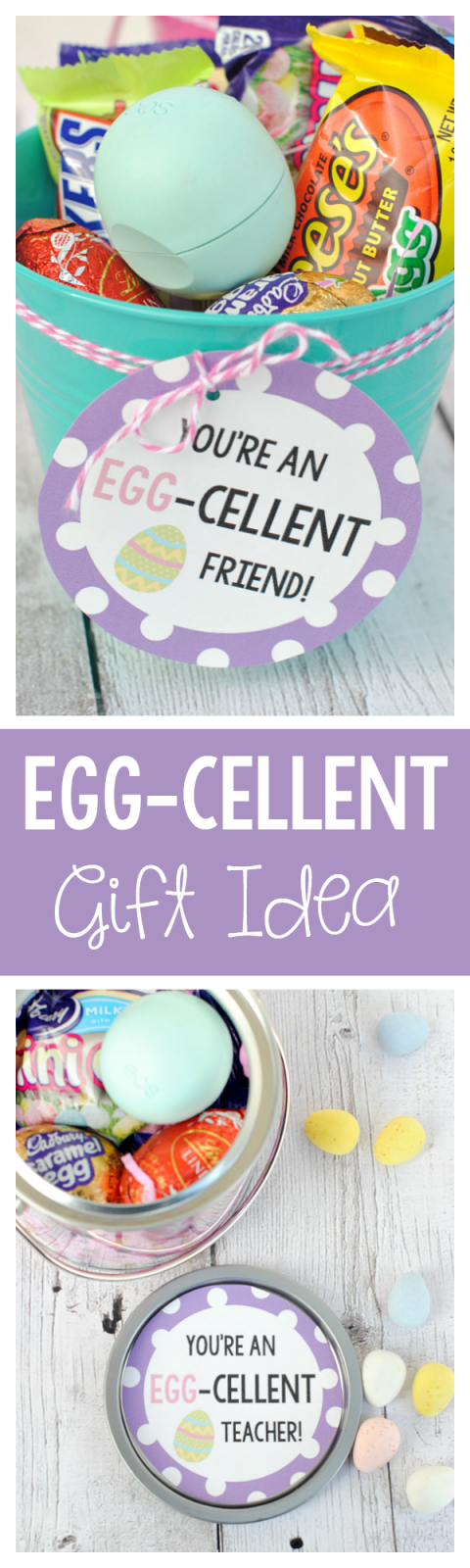 Cute easter gift ideas egg cellent gift basket easter gift and what a cute gift idea for a friend at easter negle Choice Image