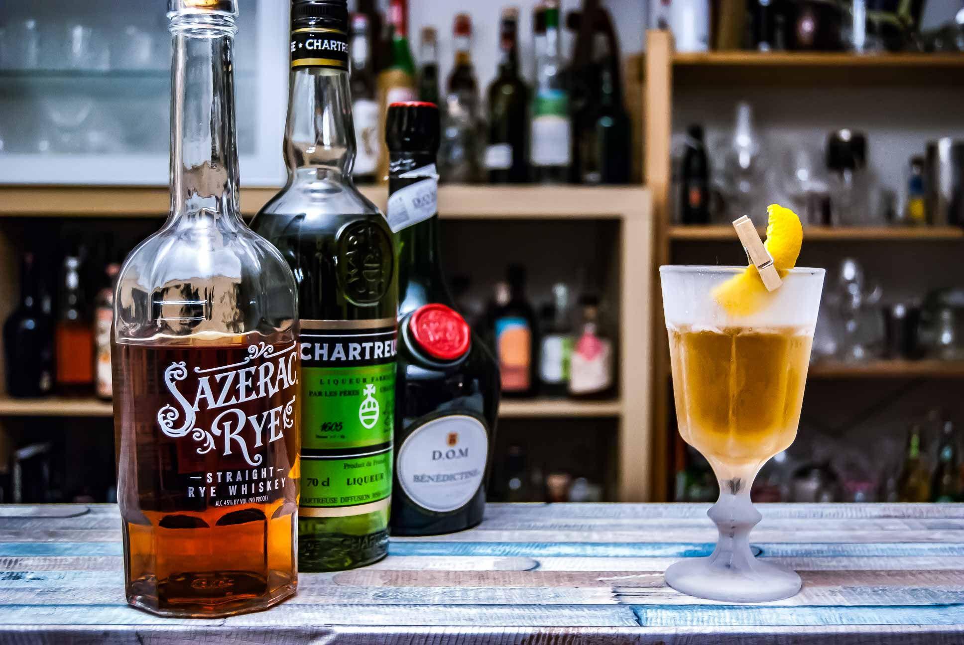 Der Sazerac Rye Whiskey Im Purgatory Whisky Rye Whiskey Und