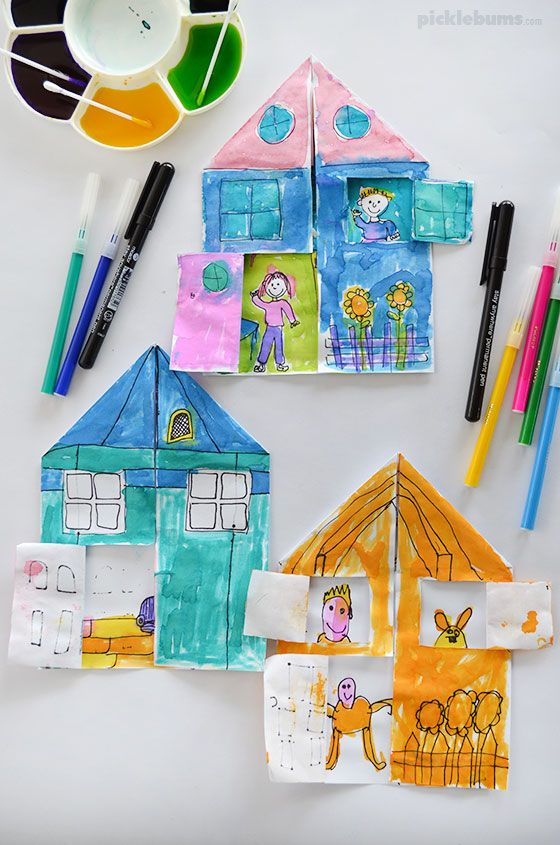 My House Drawing Prompt - Free Printable
