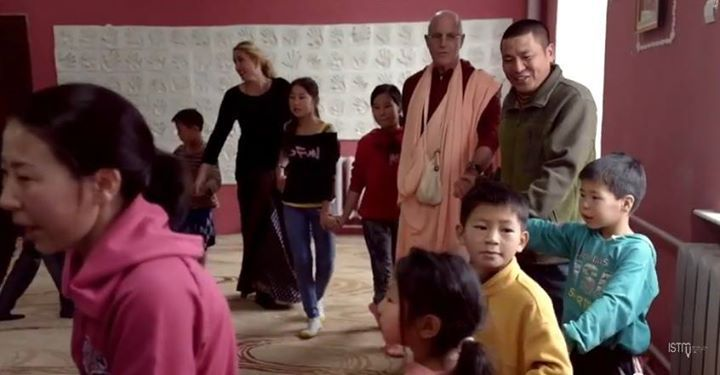 Program in an orphanage (6 min video) Indradyumna Swami: Much of the Mongolian population lives below the poverty line and many families struggle just to get by. It is common, especially in the...