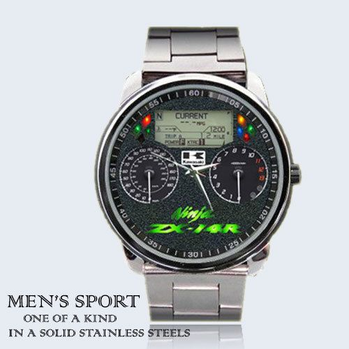 5ef8d17b0 Motors Kawasaki ZX 14R Speedometer Rare Watch by monradimail, $13.50 ...