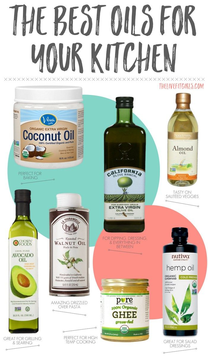 what cooking oil is good for diet