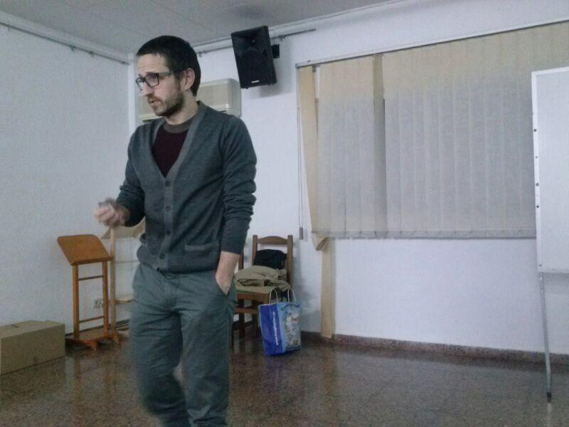 Xerrada organitzada per l'EB l'Olleria: Lesions esportives, a càrrec d'Arturo Such Sanz, fisioterapèuta i jugador del l'Olleria Bàsquet.