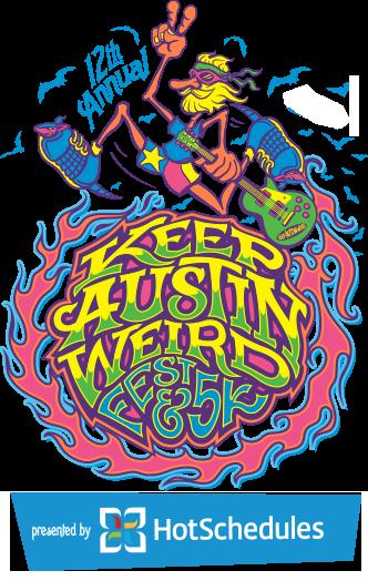 Keep Austin Weird Fest We Love You Weirdos Custom Screen