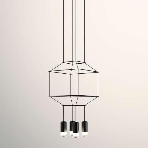 Wireflow 3d square pendant light pendant lighting squares and wireflow 3d square pendant light aloadofball Images