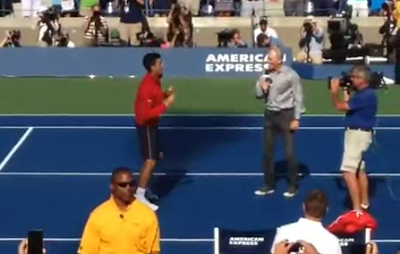 Novak Djokovic Dances To Iggy Azalea S Fancy At Us Open Video Novak Djokovic Iggy Azalea Iggy Azalea Fancy