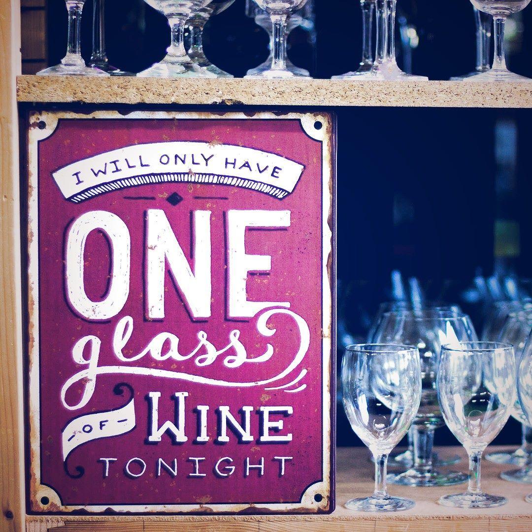 Ich nehme heute nacht nur EIN Glas Wein #winelover #