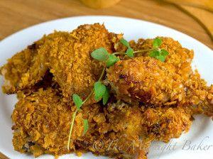 4-Ingredient Crispy Cajun Chicken