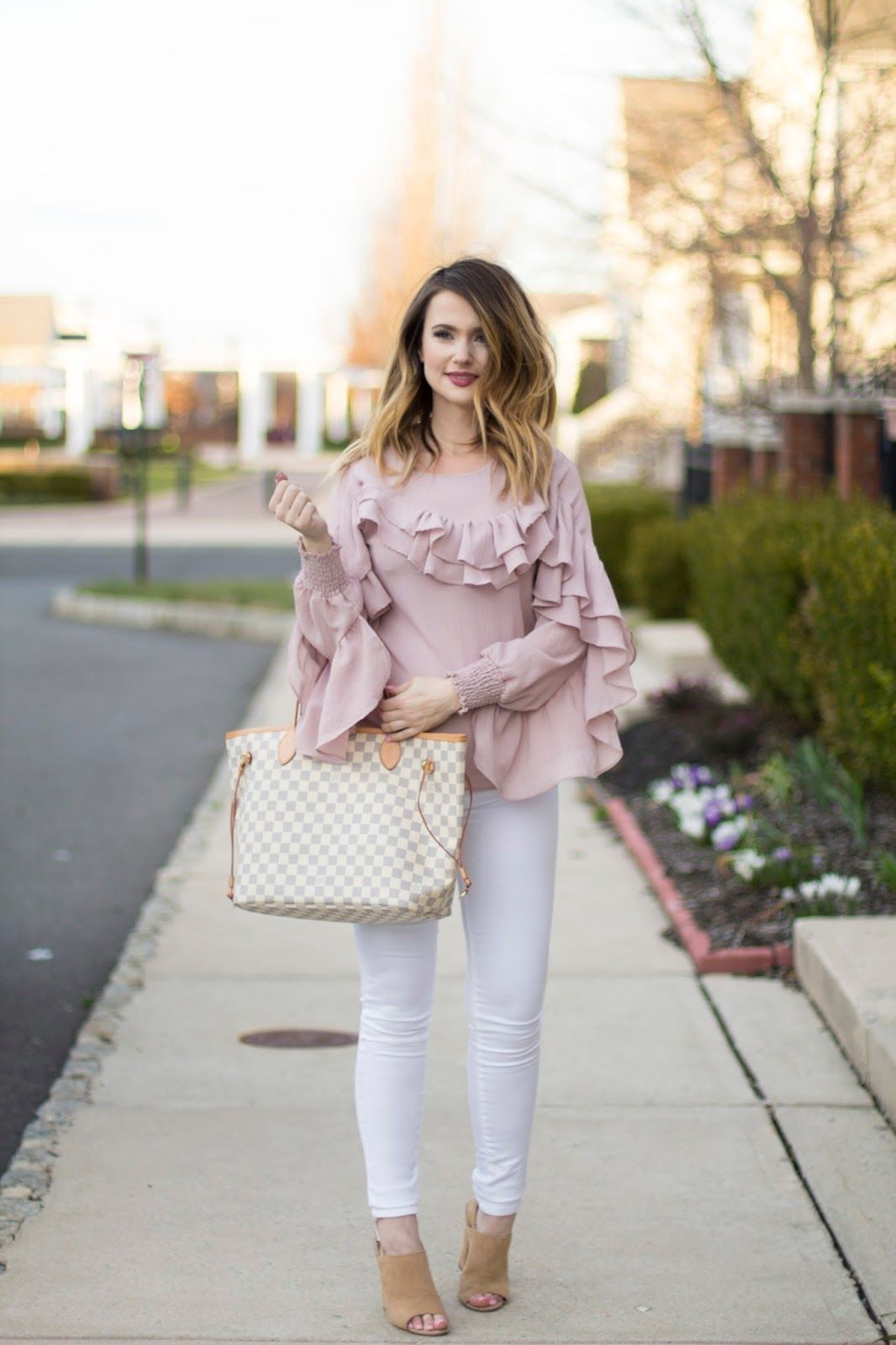 74d2206c98 All about the Ruffles... ruffle blouse