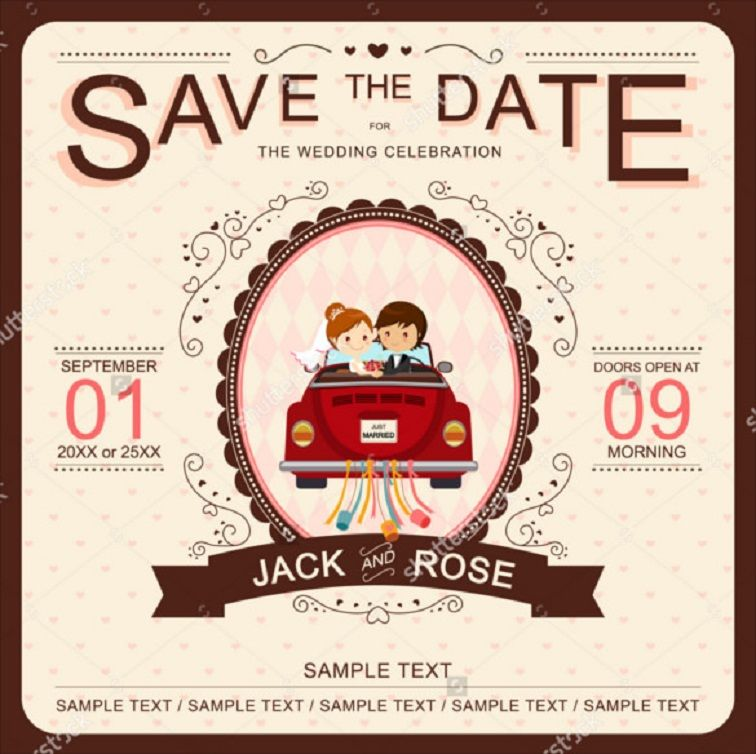 Funny Wedding Party Invitation Templates Funny Wedding Invitations Cartoon Wedding Invitations Wedding Invitation Card Design