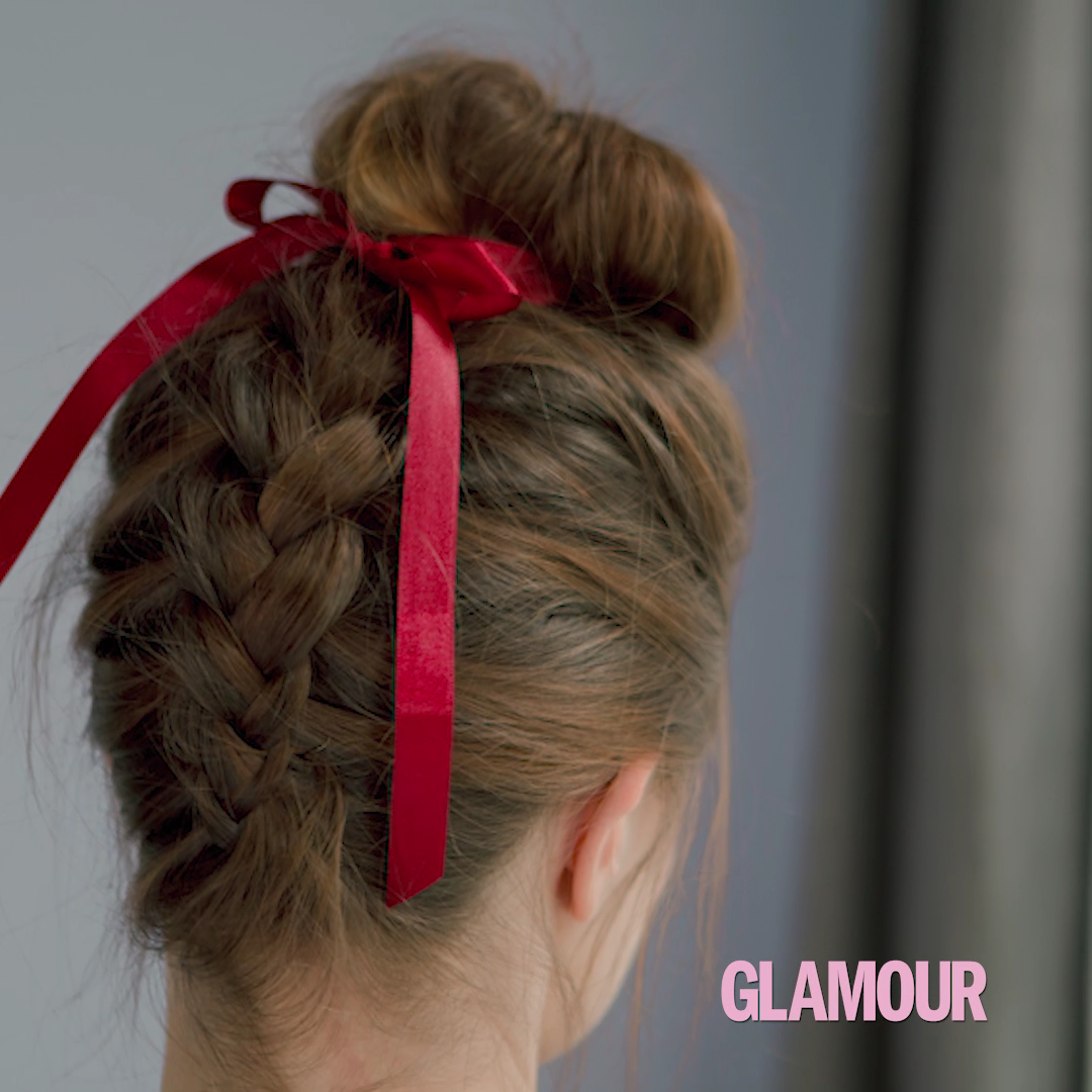 OKTOBERFEST-FRISUREN Tutorial: Geflochtener Dutt #hairtutorials