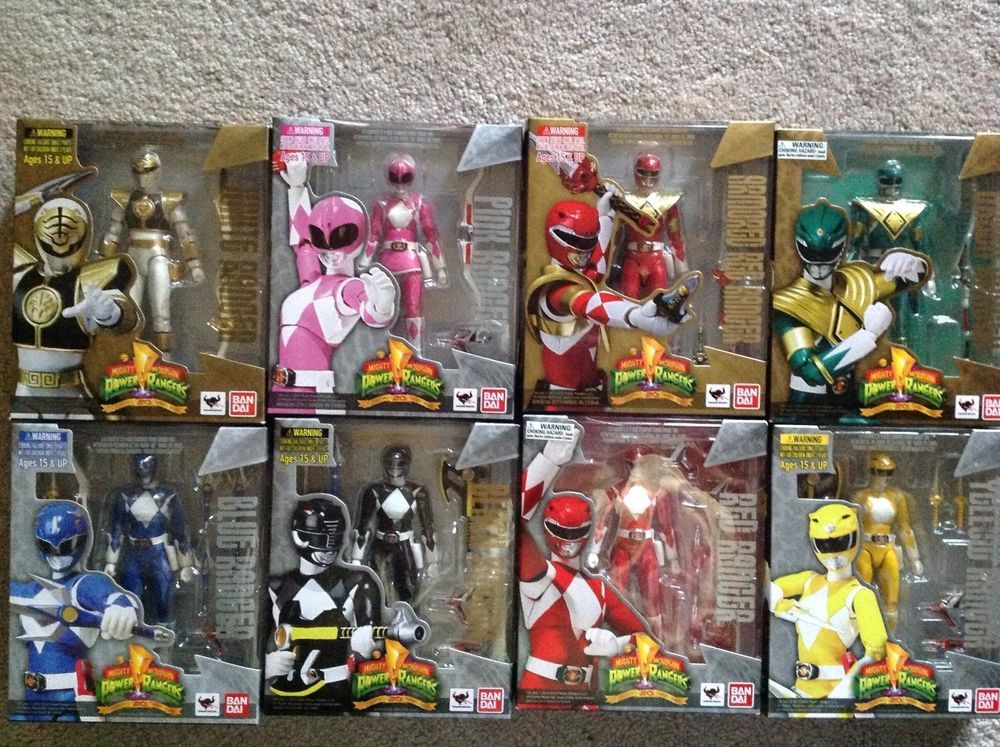 Best Power Ranger Toys And Action Figures : The best power rangers action figures ideas on