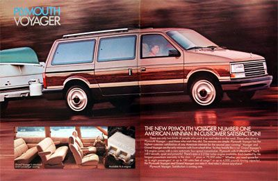 1988 Plymouth Voyager Plymouth Voyager Mini Van Plymouth