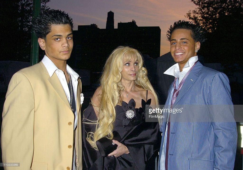 Frankie Gotti, Victoria Gotti and son Carmine Gotti