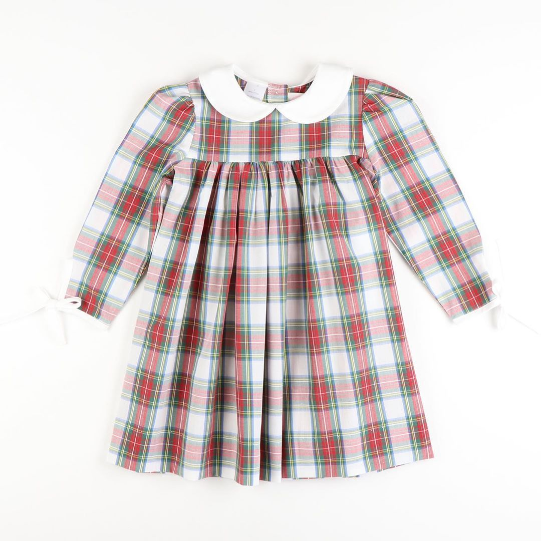 Pre Order Ships Late October Windsor Plaid Collared Long Sleeve Dress Price 36 00 Options 18m 24m 2t 3t 4t 5 6 7 8 To Buy Comment Sold And Size [ 1080 x 1080 Pixel ]