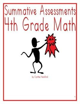Summative Assessments Th Grade  Summative Assessment Common
