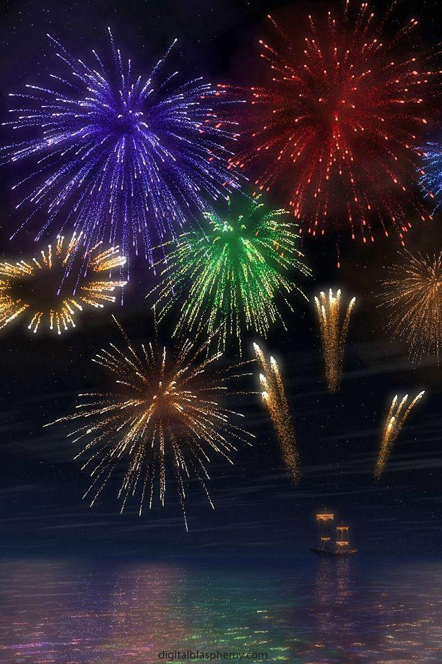 Firerworks 4th Of July Fireworks Fireworks Fireworks Art
