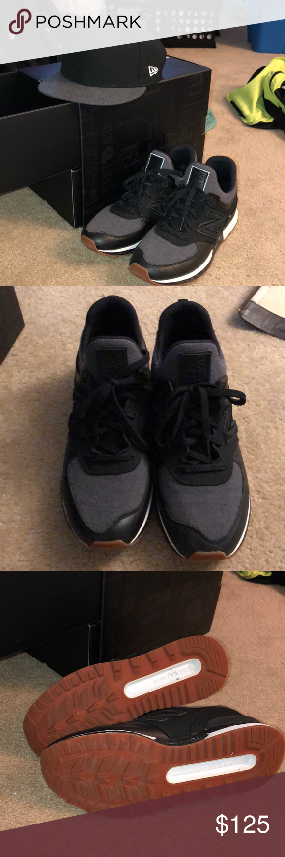 sports shoes 32945 db694 New Balance x New Era 574 Sport Sneakers worn a few times ...