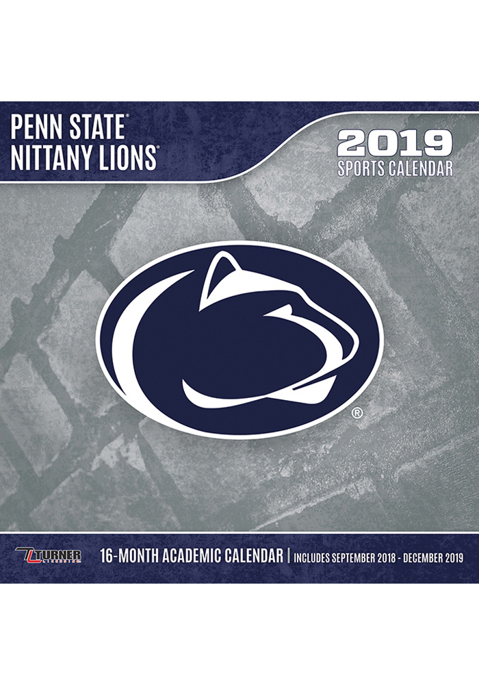 Penn State Nittany Lions 2019 Wall Calendar 7130272 Nittany