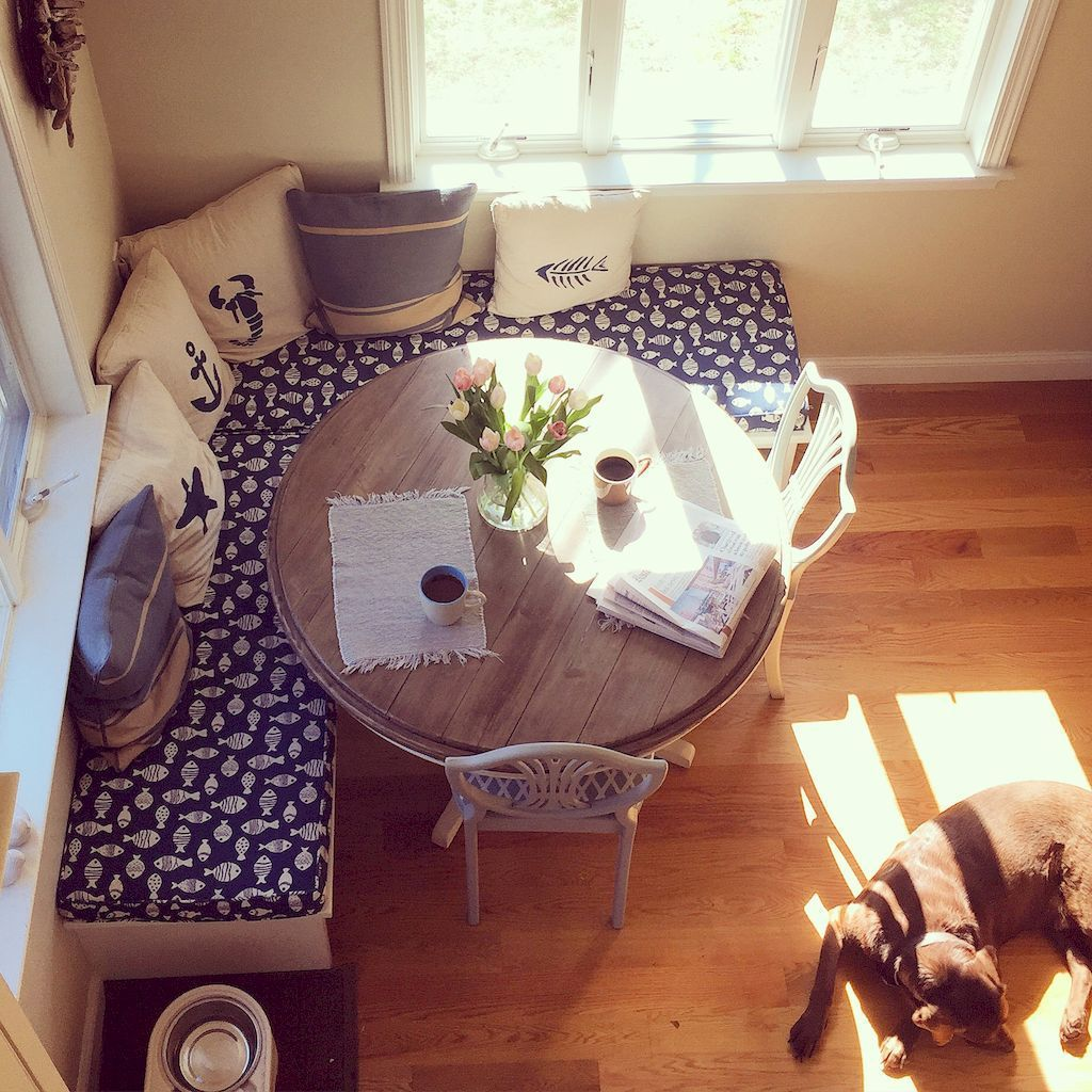 Love This Nook For My Eat-in Kitchen