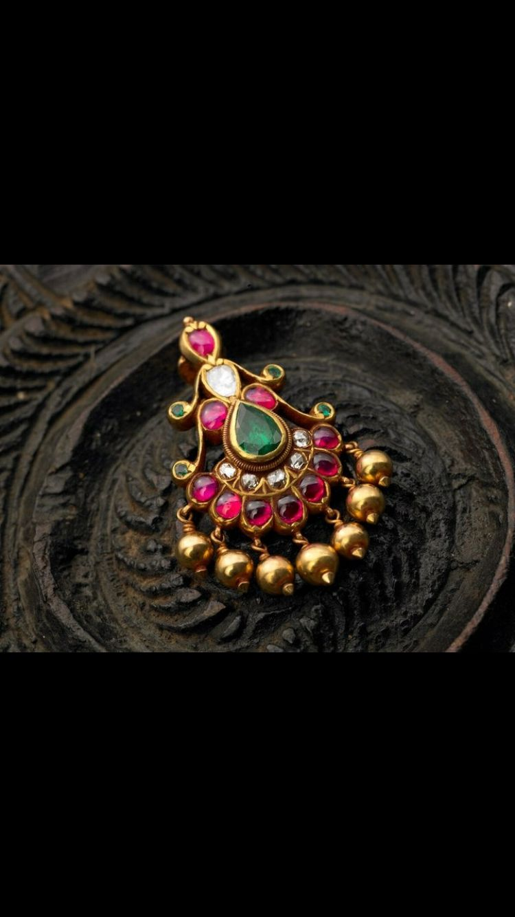 Beautiful Nose Stud Mookuthi Nose Jewelry Trendy Earrings