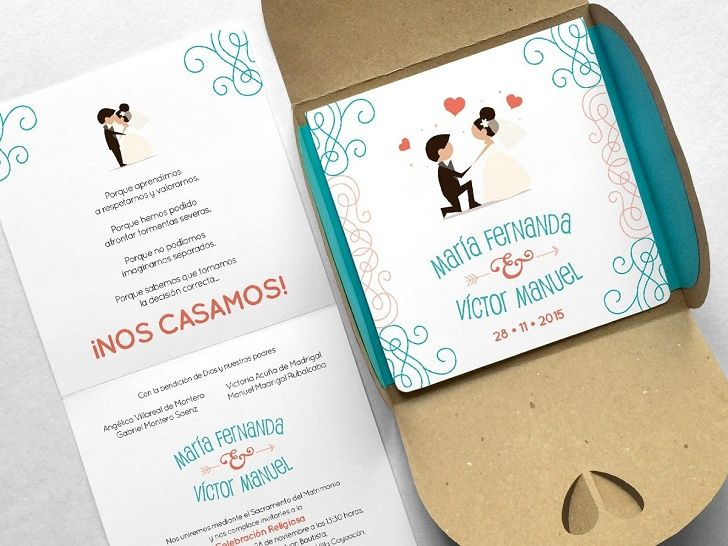 Invitaciones boda invitaciones boda 2017 invitaciones - Tarjetas de invitacion de boda originales ...