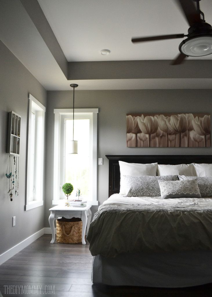 Our DIY House: 2014 Home Tour   Bedroom wall colors, Home ...