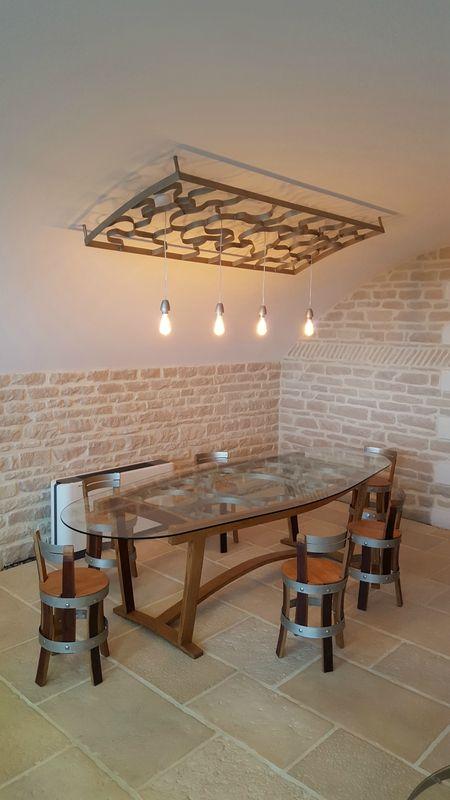 winebar, meuble design, agencement, pièce unique, cave à vins ... - Meubles Design Bordeaux