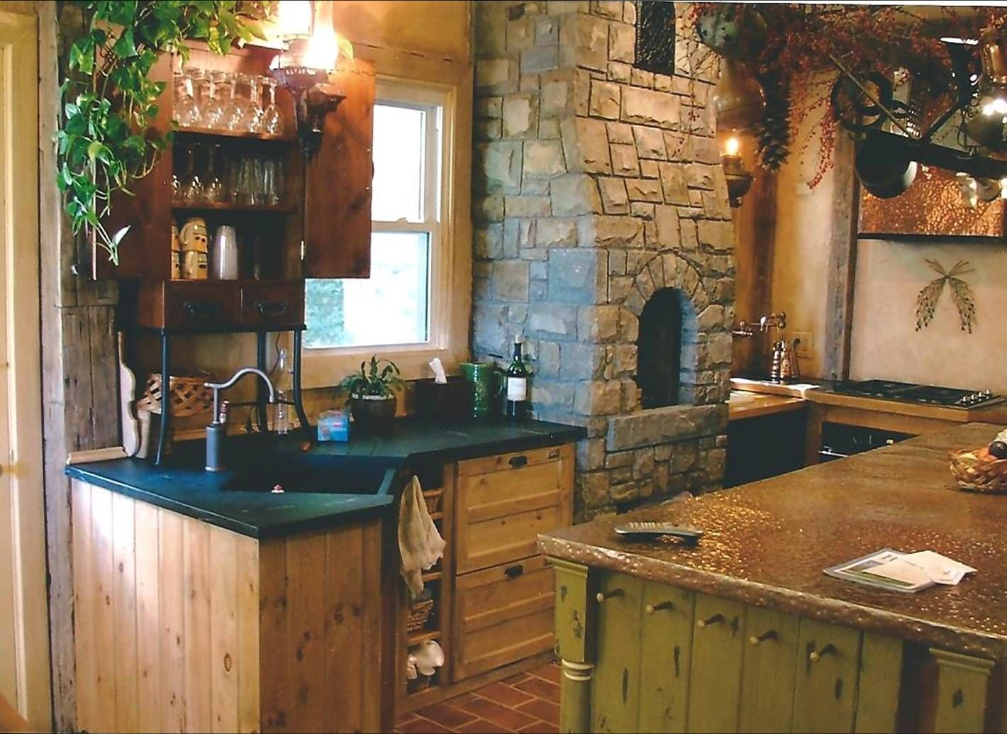 Elmira Ny Kitchen Project 2003 Notice Only 1 Upper Cabinet Which Is