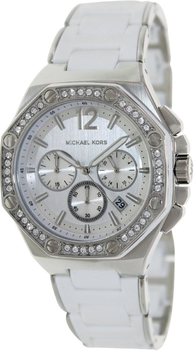 white watches for women Michael Kors